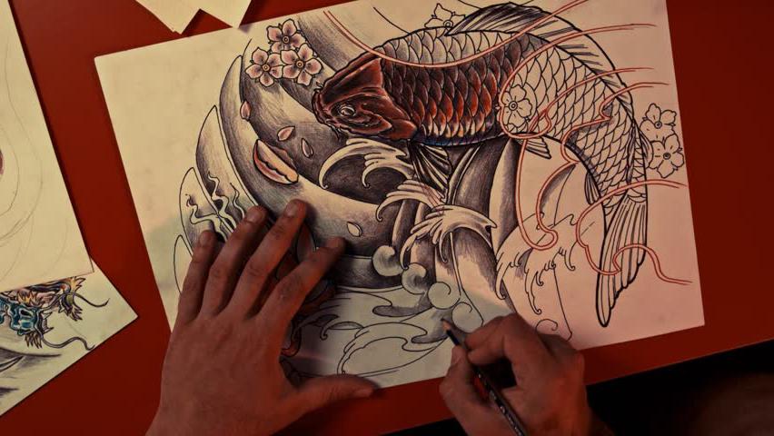Crearea modelului tatuaj
