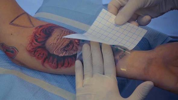 Vindecare tatuaj